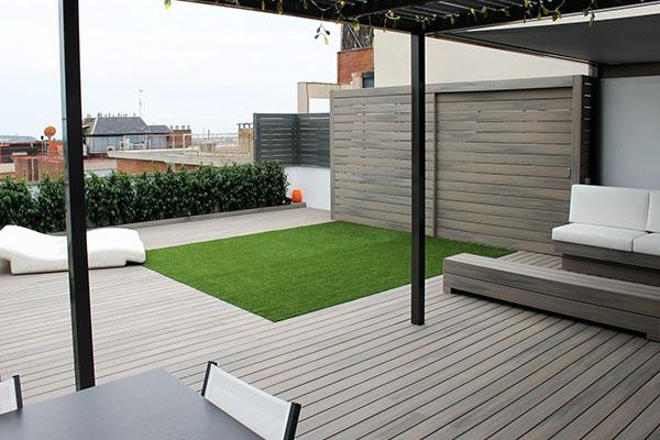 Decoración exteriores- Jardín o terraza minimalista